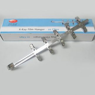 Stainless Steel X-Ray Film Hanger - 10 Clips
