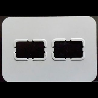 Universal Periapical Bite-Wing Dental X-Ray Film Mounts - Clips On 2 Slot