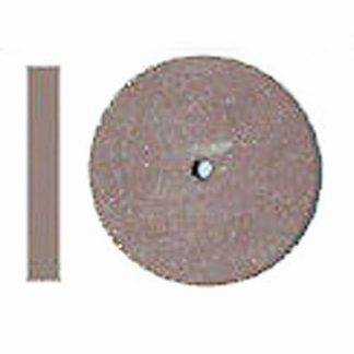 "Rubber Wheel 7/8"" X 1/8"" Brown"