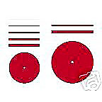 "Roughing Wheels Discs 1 1/2"" X 0.032"" 100pc"