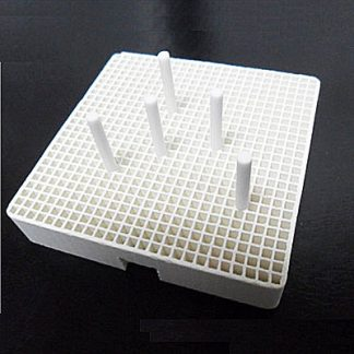 Dental Lab Porcelain Honeycomb Roast Trays Square Set Of 10